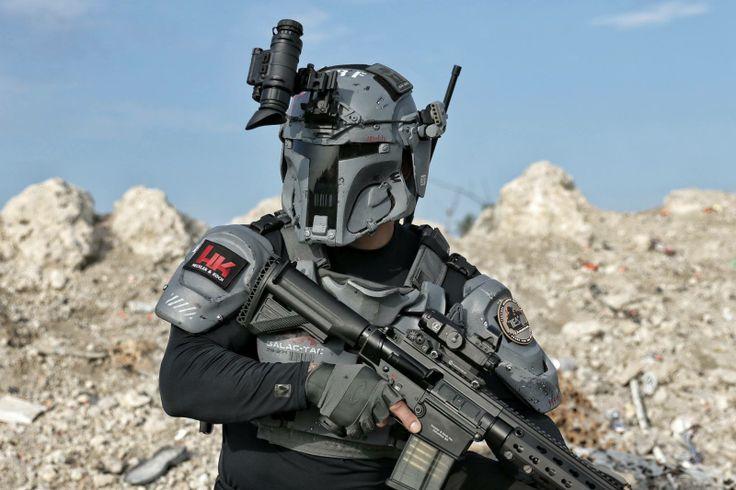 AR500 Armor Builds Mandalorian Ballistic Armor