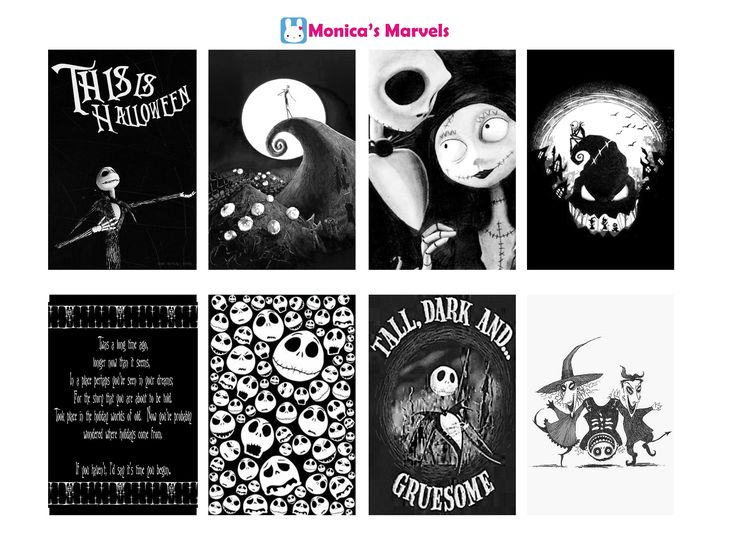 "FREE ""sticker kit"" Nightmare Before Christmas Fullboxes  (the happy planner by MAMBI) sticker. Free printable sticker layout may be subject to copyright not intended for retail; personal use only"