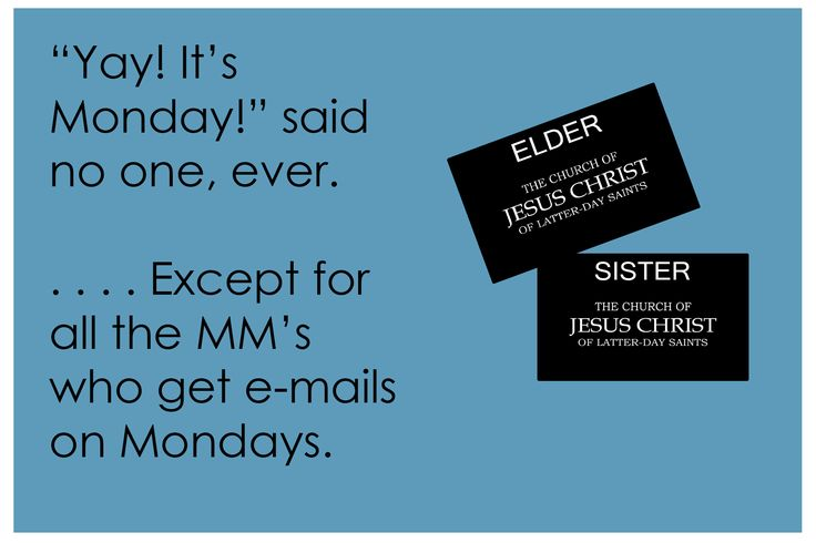So True for this MM--Missionary Mom!