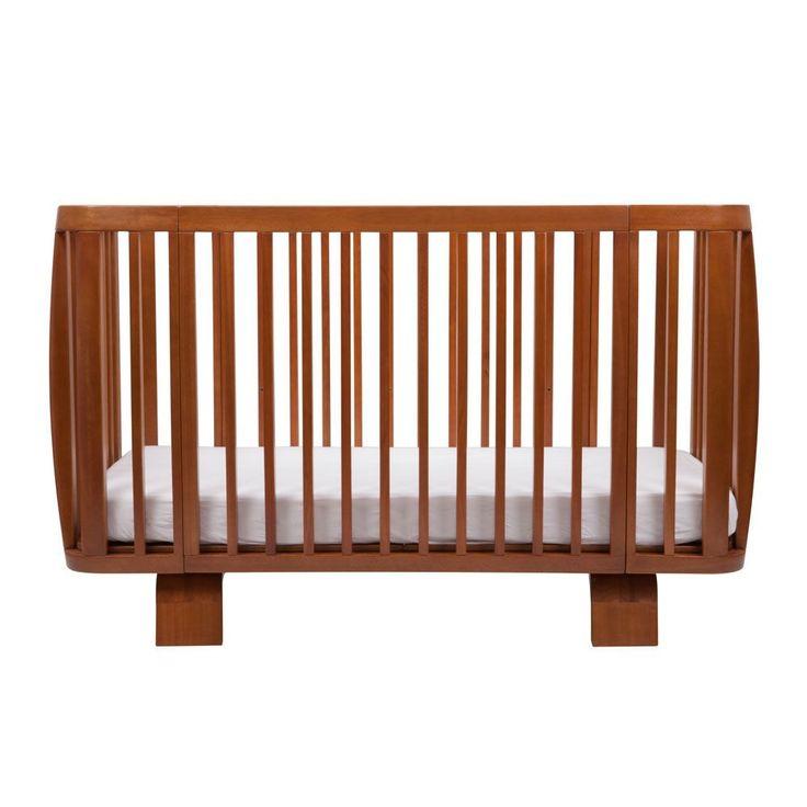 Oak Retro Cot Bed Crib bloom