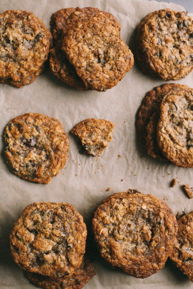 CARDAMOM FIG CHOCOLATE COCONUT OATMEAL COOKIES--could more of my favorite things be crammed into 1 cookie?!?