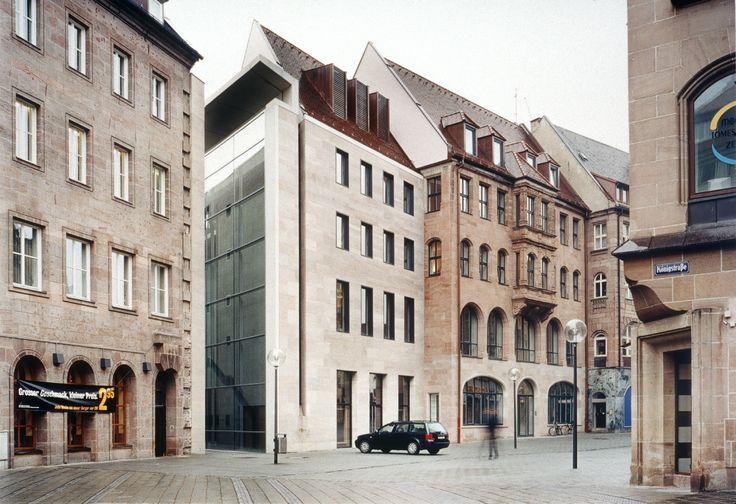 Neues Museum, Nürnberg 1991 – 1999