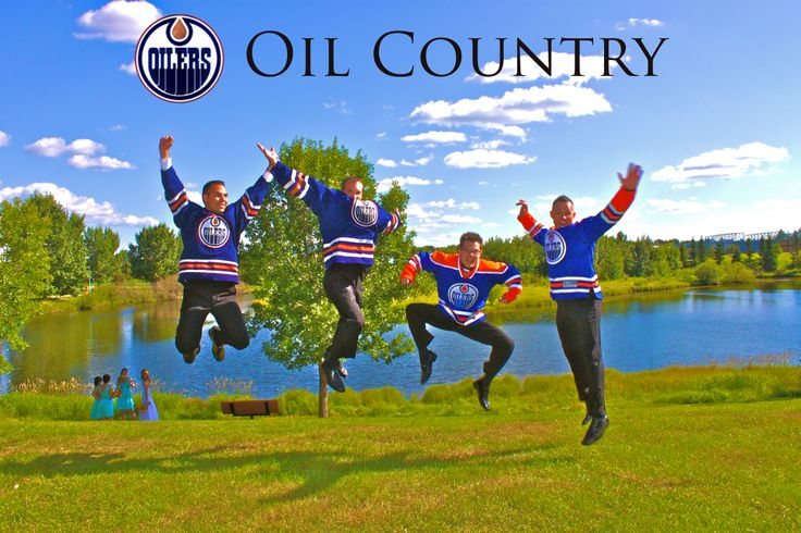 Even when the Edmonton Oilers aren't doing so great, we still love 'em! #yeg