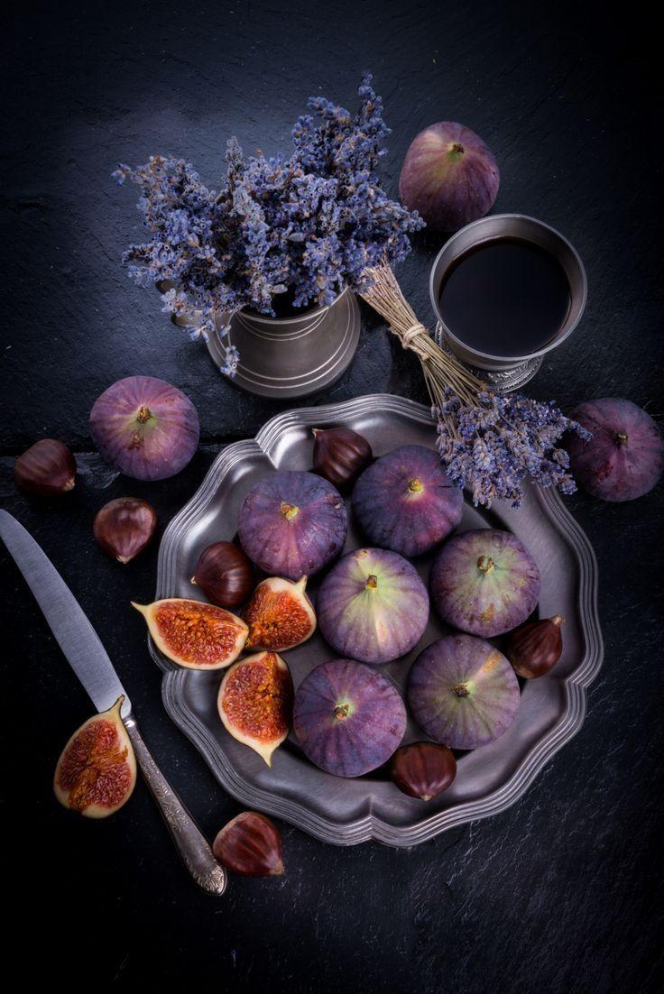 Инжир и лаванда, альянс фиолетового цвета