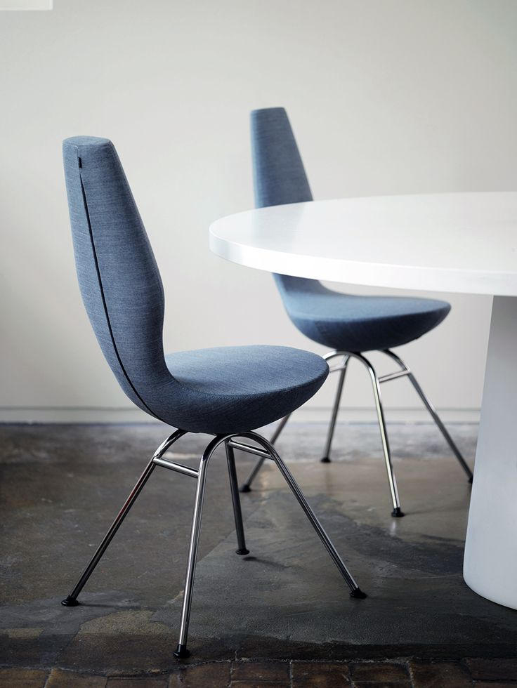 The Varier 'Date' dining chair designed by Olav Eldøy