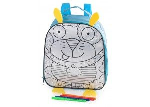 Funbox Activities Colour Me In Doggy Backpack Lunch Box. This one is GREAT for the littlies especially when they go on excursions!! Fully insulated to keep lunch nice and cool! #funboxactivities  #funboxlunchbox  #amazing #lunch #wowzers #doggy #excursions  @funboxactivities #kids #colouringin #kidsactivities #lunchbox