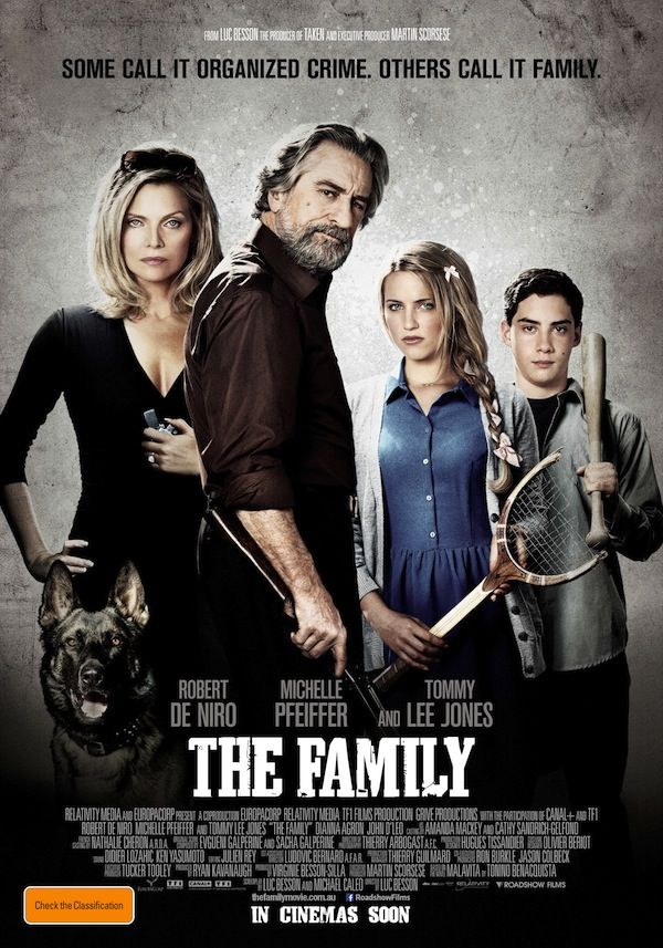 The Family (2013) Official Poster #film