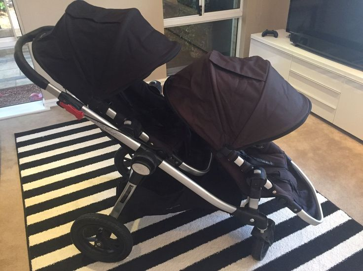 Baby Jogger City Select Double Pram. If you've researched double prams, you'll know how good this is! So lightweight and easy to use, lots of seat configurations, have absolutely loved this pram! Bought new late 2013, used but in great condition - just a few expected marks from use, no rips or tears. One seat just slightly faded as it's had more use but barely noticeable. Pick up Orelia, WA. | eBay!