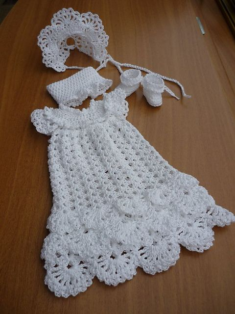 Blessing dress  http://www.ravelry.com/patterns/library/christening-dress-3