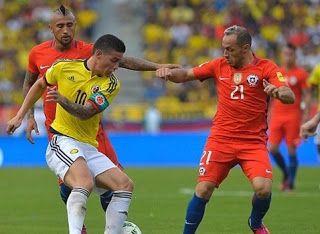 Blog Esportivo do Suíço:  Colômbia empata sem gols com o Chile no retorno de Falcao García