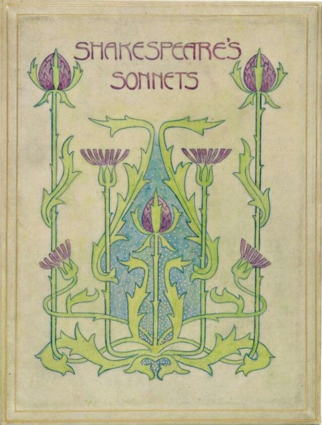 ≈ Beautiful Antique Books ≈ Shakespeare's Sonnets, 1900-10