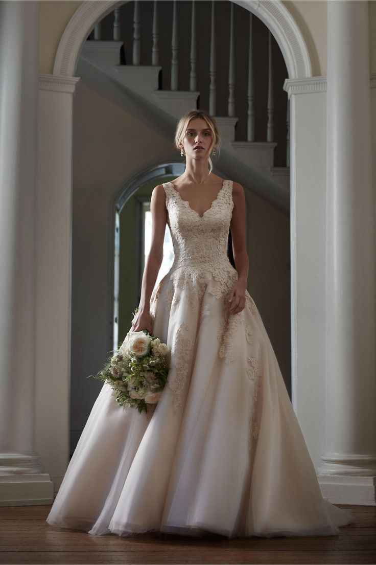 The 25+ best Champagne lace wedding dress ideas on Pinterest ...