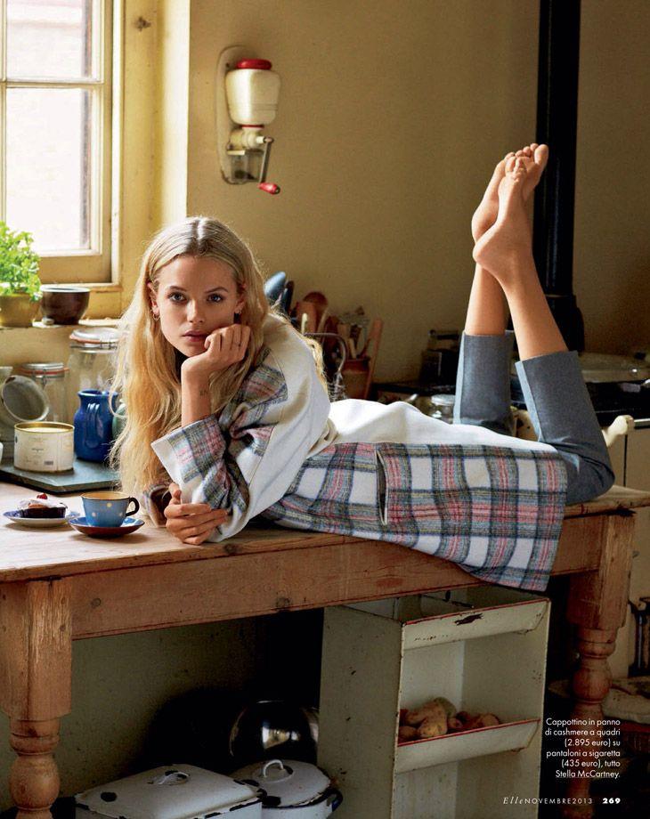 Gabriella Wilde by Matt Jones for Elle italia