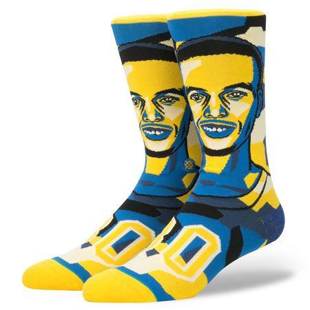 Stance - Calze Mosaic Curry NBA Legends - Yellow