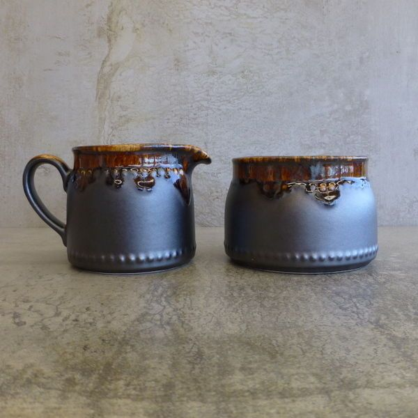 Vintage Crown Lynn Titian Ware Made in New Zealand 1970s New Zealand Pottery