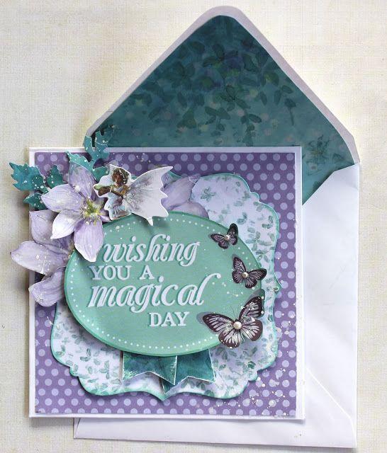 Fairy Card - Kaisercraft Fairy Dust