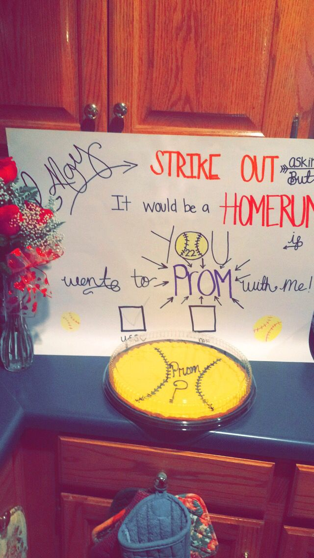 Softball Promposal