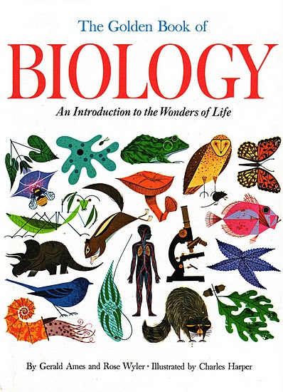 The Golden Book of Biology - now I am on a mission to find this book.: Science Book, Charley Harpers, Book Covers, Kids Science, Vintage Kids, Kids Book, Golden Book, Children Book, Giant Golden