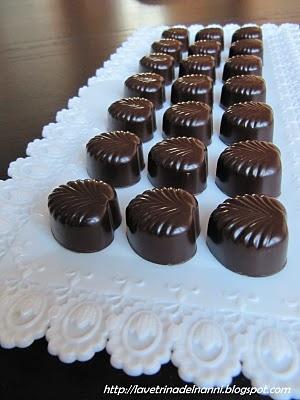 cioccolattini alla crema di whiskey