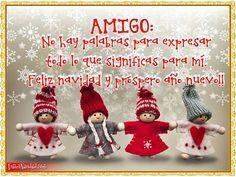 Frases navideñas para los amigos con bonitos juguetes