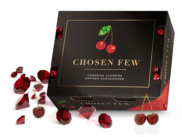 Chosen Few Cherries On Behance Bty Brandever Design Vancouver BC PD
