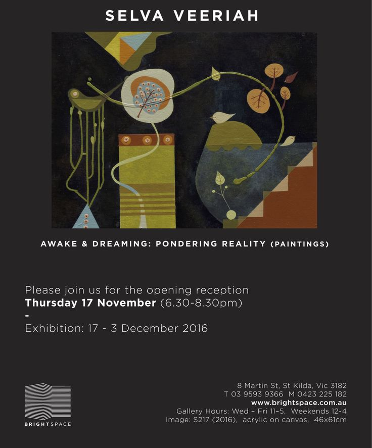 Solo exhibition @ Brightspace Gallery (17 Nov - 3 Dec 2016)