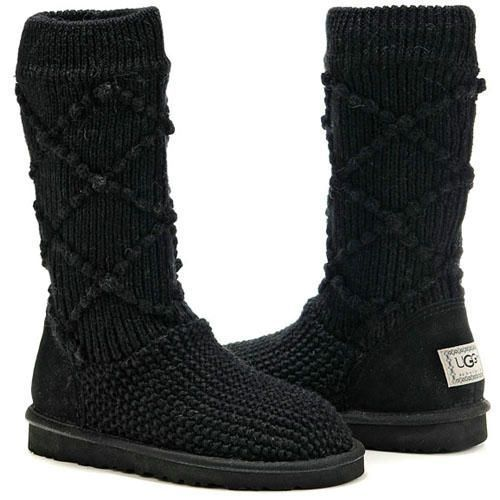 #UGGCLAN #UGG #BOOTS #OUTLET, #Christmas #Promotion, up to 80% discount off,  #Christmas Great GIFT, UGG Classic Argyle Knit 5879 Black, FREE SHIPPING UGG Boots around the world, Kids UGG Boots, Womens UGG Boots, Girls UGG Boots, Mens UGG Boots, Boys UGG Boots, #WinterOutfit, #NewYearOutfit, #2014trends