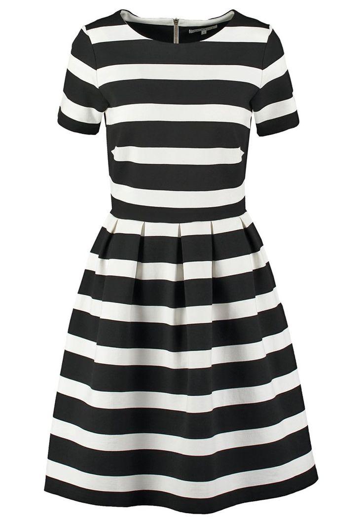 mint&berry Jerseykleid - black/white - Zalando.de