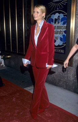 Gucci Velvet tuxedo circa 1996. I want the pants!