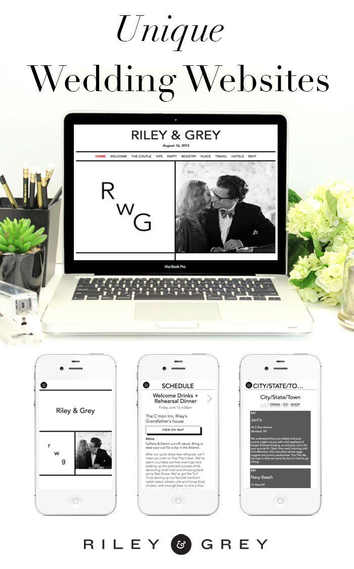211 best Wedding Website Design, Ideas & Templates images on ...