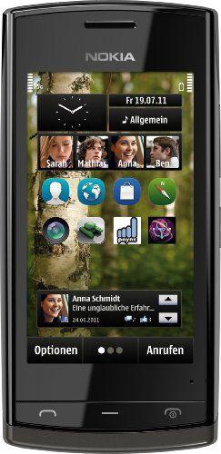"Nokia 500 - Móvil libre (pantalla táctil de 3,2"" 640 x 360, cámara 5 Mp, 2 GB de capacidad, procesador de 1 GHz, S.O. Symbian) color negro [Importado de Alemania] B005LGY8UQ - http://www.comprartabletas.es/nokia-500-movil-libre-pantalla-tactil-de-32-640-x-360-camara-5-mp-2-gb-de-capacidad-procesador-de-1-ghz-s-o-symbian-color-negro-importado-de-alemania-b005lgy8uq.html"