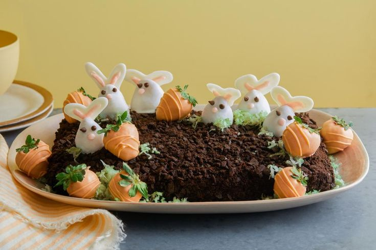 Celebrate the holiday with fun Easter desserts from Food Network, including show…   – Holiday Fun