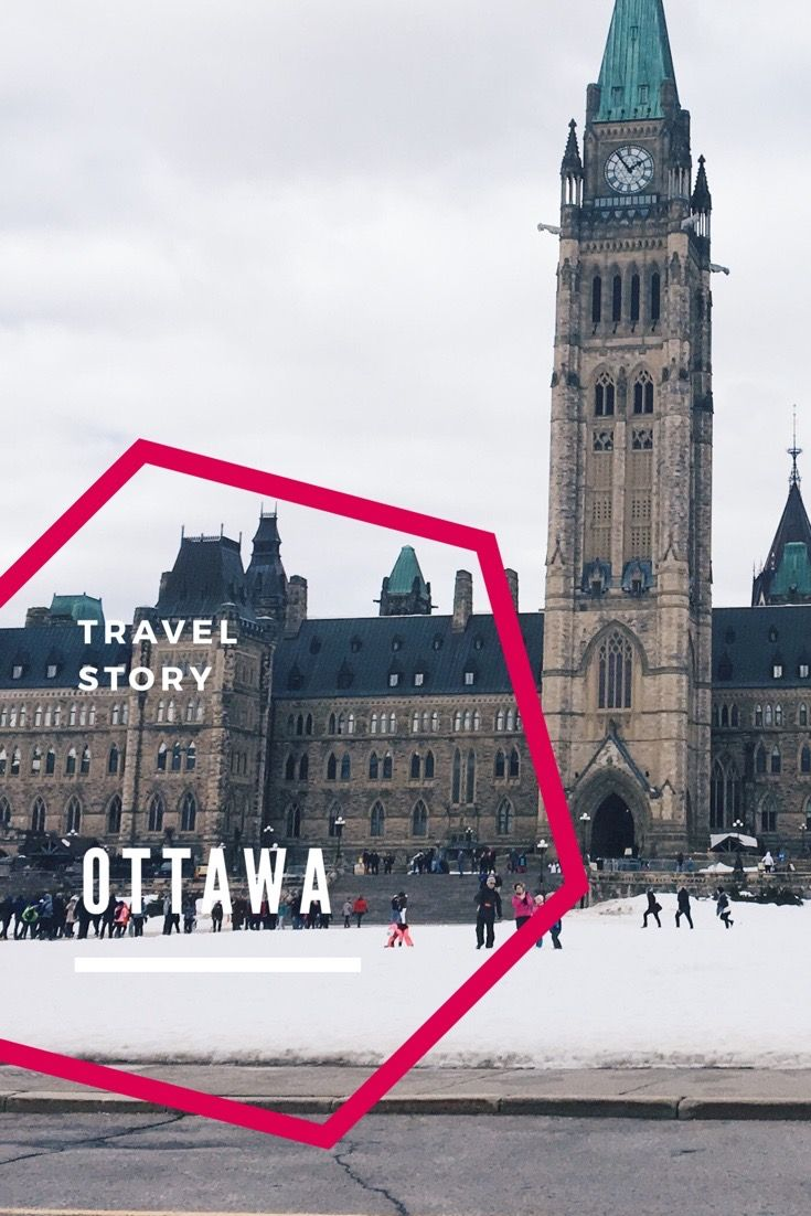 Reisebericht von Ottawa, Ontario 1 Tag in der Stadt mit dem Parlamentssitz von Kanada. Travel Story Ottawa One day in the city. Capital of Canada.