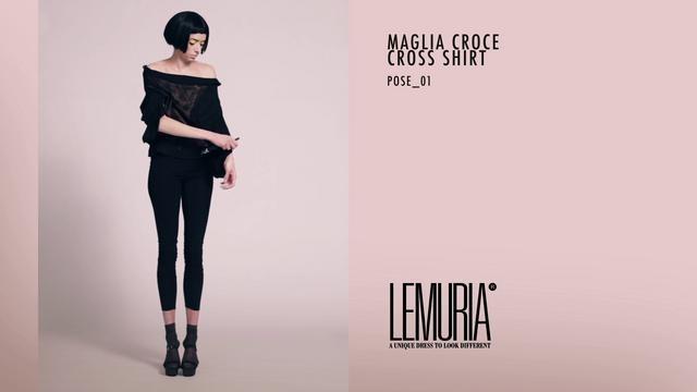 Ecco la trasformazione della Maglia croce/Cross shirt by Lemuria. Cambi il look in meno di un minuto! Da oggi la trovi su http://lovli.it/index.php/maglia-croce-nera-stampata.html#