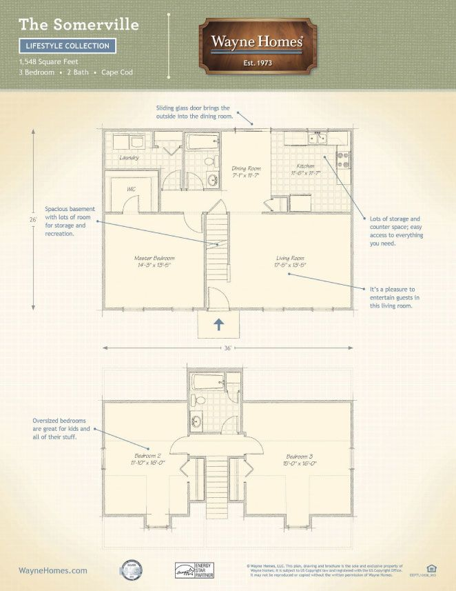 17 best ideas about wayne homes on pinterest ranch homes Wayne homes floor plans