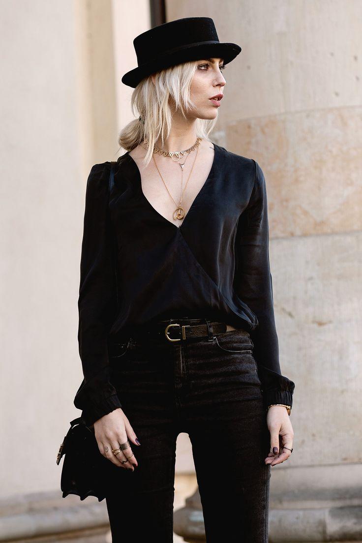 Black Circus by Masha Sedgwick Rock Chic, Glam Rock, Rock Style, My Style, All Black Fashion, All Black Outfit, Chic Outfits, Fashion Outfits, Emo Outfits