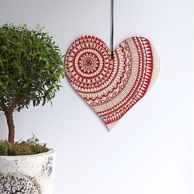 Journey into Creativity: Mandala Heart