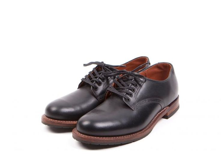 Red Wing Shoes  - 9043 Beckman Oxford Black Featherstone
