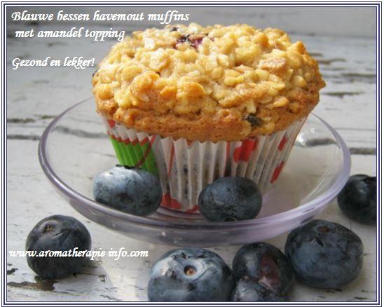 Deze blauwe bessen havermout muffins zijn niet alleen onweerstaanbaar lekker maar zitten ook nog boordevol met gezonde ingrediënten.