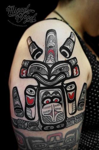 Native American Indian tattoo