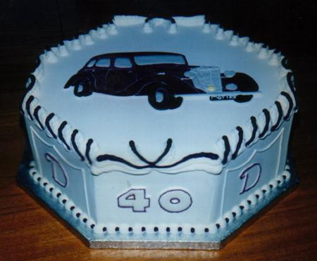 Cake Decorating Ideas Male : Birthday Cakes For Men 40th Birthday Cake Ideas For Men ...