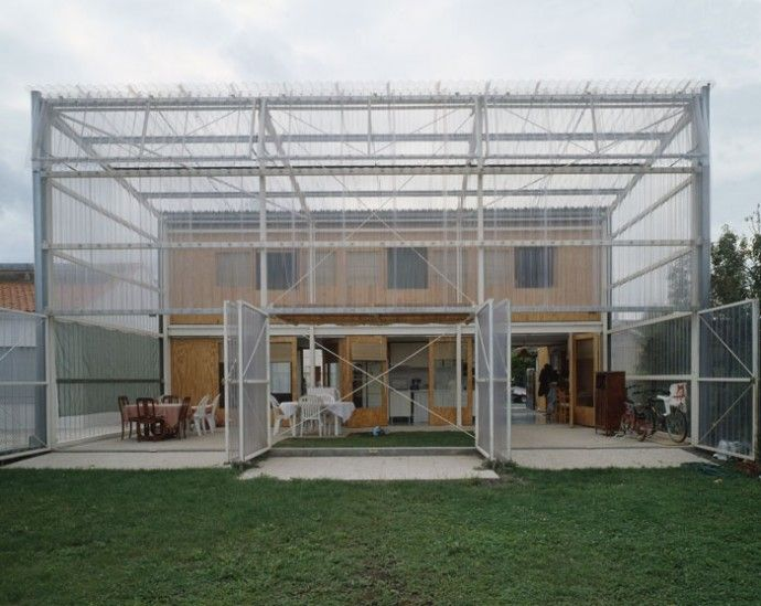 Latapie House à Floirac   Réalisation Lacaton U0026 Vassal 1993   185   Coût  Net 55 (val.