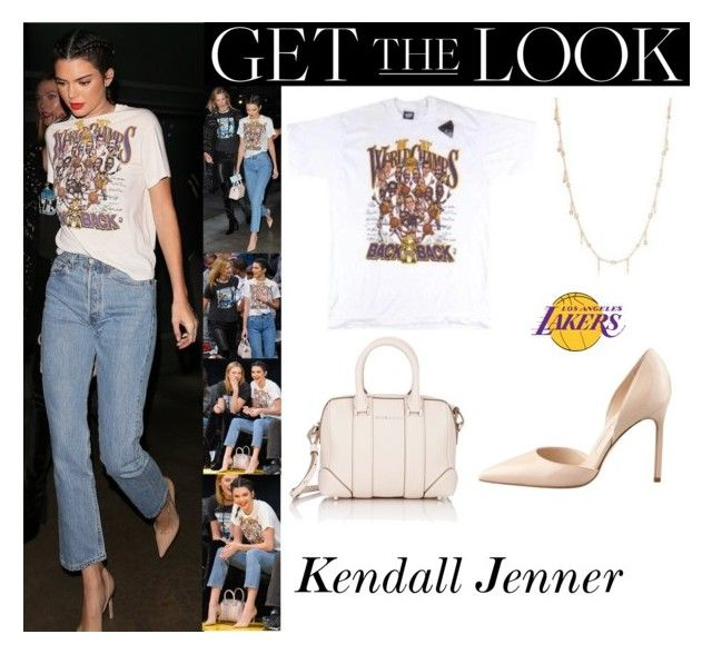 Kendall Jenner With Karlie Kloss Los Angeles Lakers Basketball Game October 26, 2016