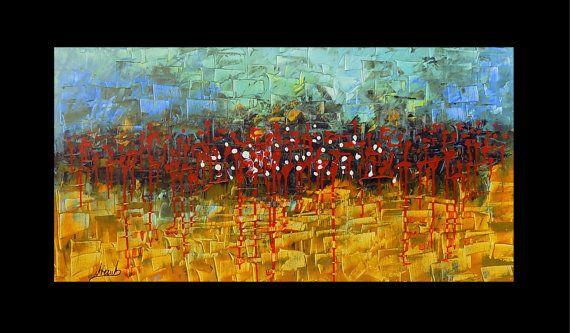 Original Acrylic Abstract painting ABSTRACT by artstudioAreti