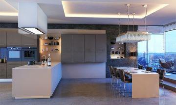 Zurfiz Ultramatt Metallic Basalt - By BA Components, Kitchen Doors, Interior Design