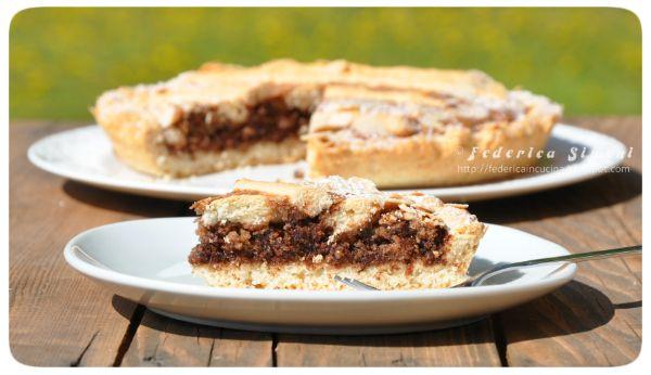 La cucina di Federica: Crostata mandorle e cioccolato