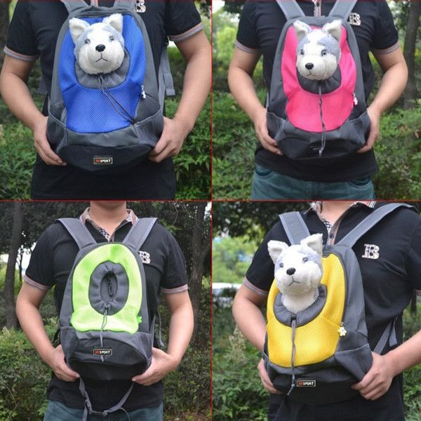 *** SPECIAL PROMOTION - 40% OFF *** Extra 10% discount on orders over $40 Use Over40 discount coupon code on checkout page. This fashionable pet carrier bag is specially designed for your lovely pet.