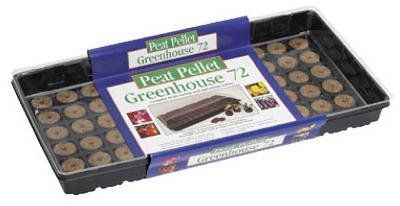 Plantation Products 72 Pellet Grn House Kit P072 Plant Trays & Seed Starting Materials by Plantation. $8.53. Plantation #P072 72 Pellet Green House Kit. PLANTATION PRODUCTS. 72 Peat Pellet Green House Kit.. Save 15%!