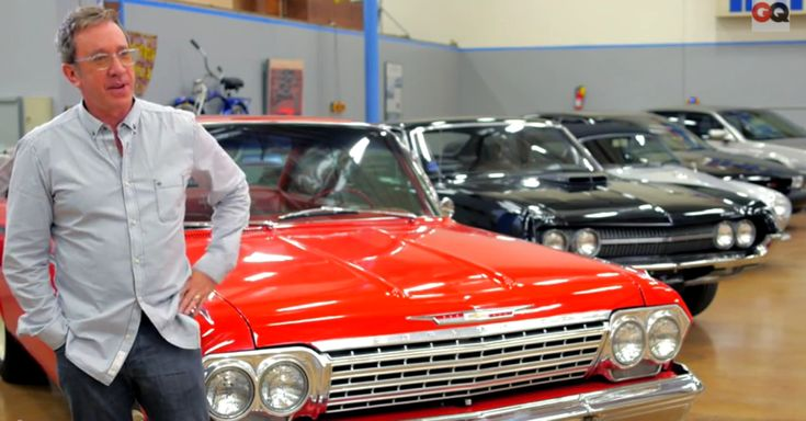 Tim Allen's Amazing Classic Cars Collection. Double Click to See the Video