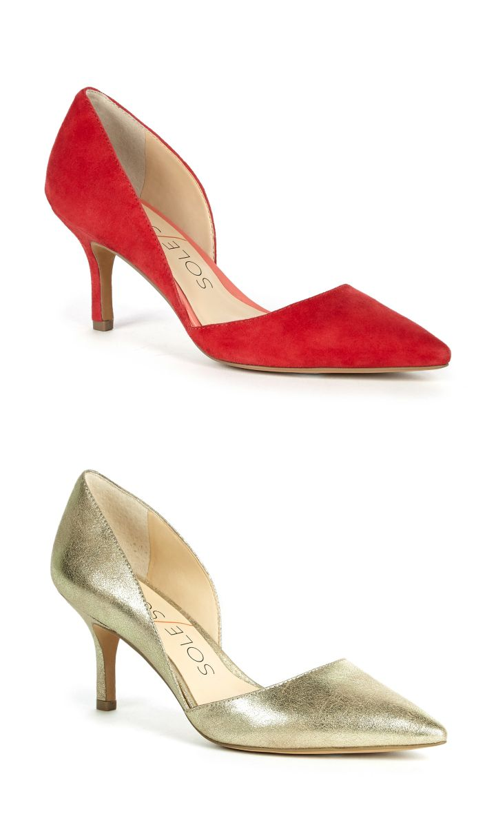 602 best Shoes Low to Mid Heel Shoes images on Pinterest   Heels ...